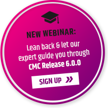 New Webinar: Lean back and let our expert guide you through the benefits of CMC Release 6.0.0. Sign up now!