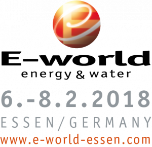 E-world 2018 in Essen, Germany