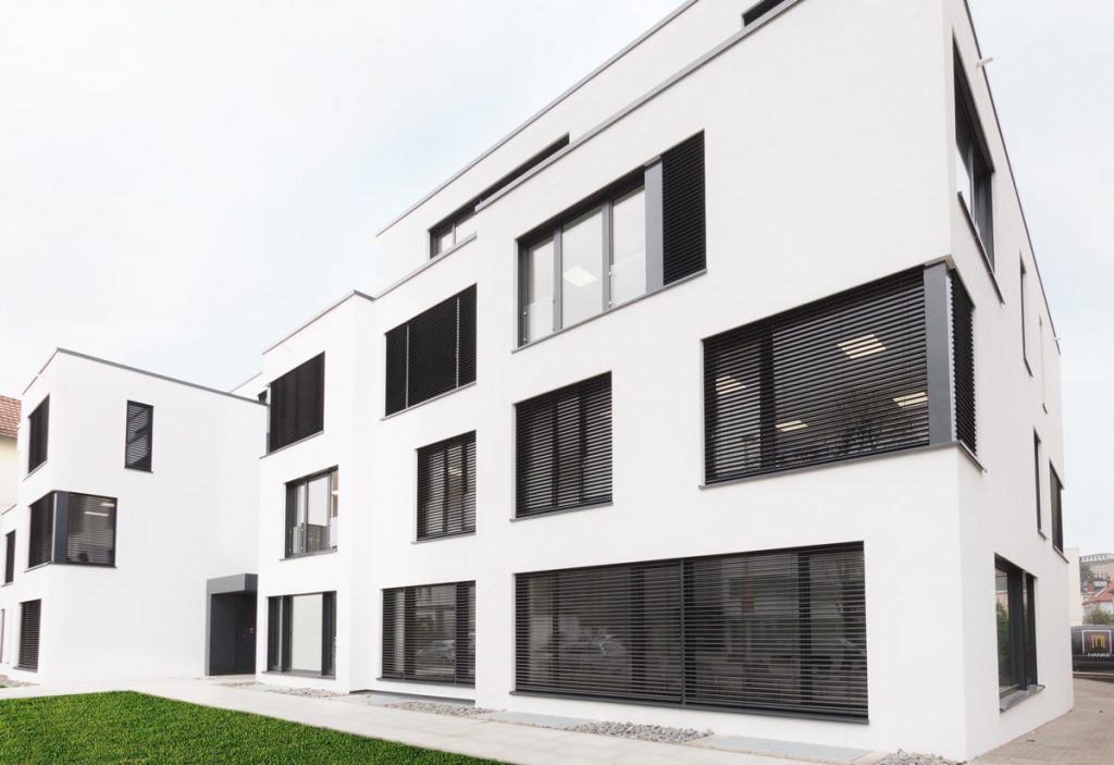 Photograph of b-next's new Headquarters in Herford, Germany