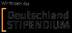 Logo: Wir fördern das Deutschlandstipendium